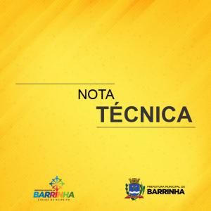 NOTA TÉCNICA DE ESCLARECIMENTO CASO POSITIVO DA COVID-19.